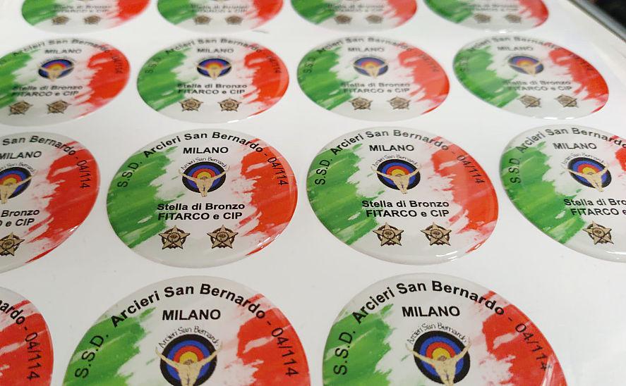 Produzione etichette lenticolari