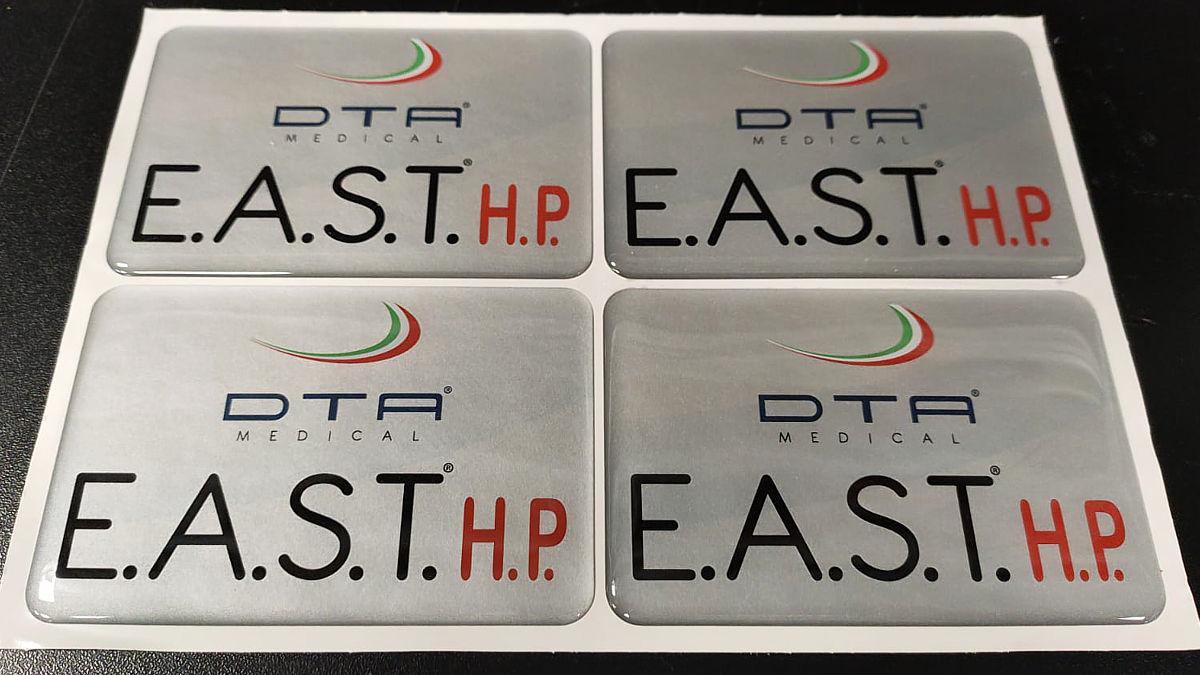 Produzione etichette resinate per macchinari